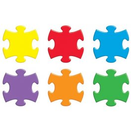 Cut Out Mini Puzzle Pieces