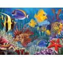 Wide-Eyed Fishies 400 Multi-Size Piece Jigsaw Puzzle