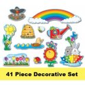 Spring Bulletin Board or Decorative Set