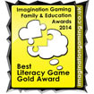 Best Literacy Game Gold Award 2014